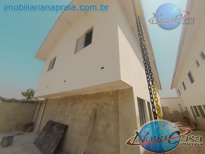 Sobrado 2 dormitórios, Village Praia Grande.
