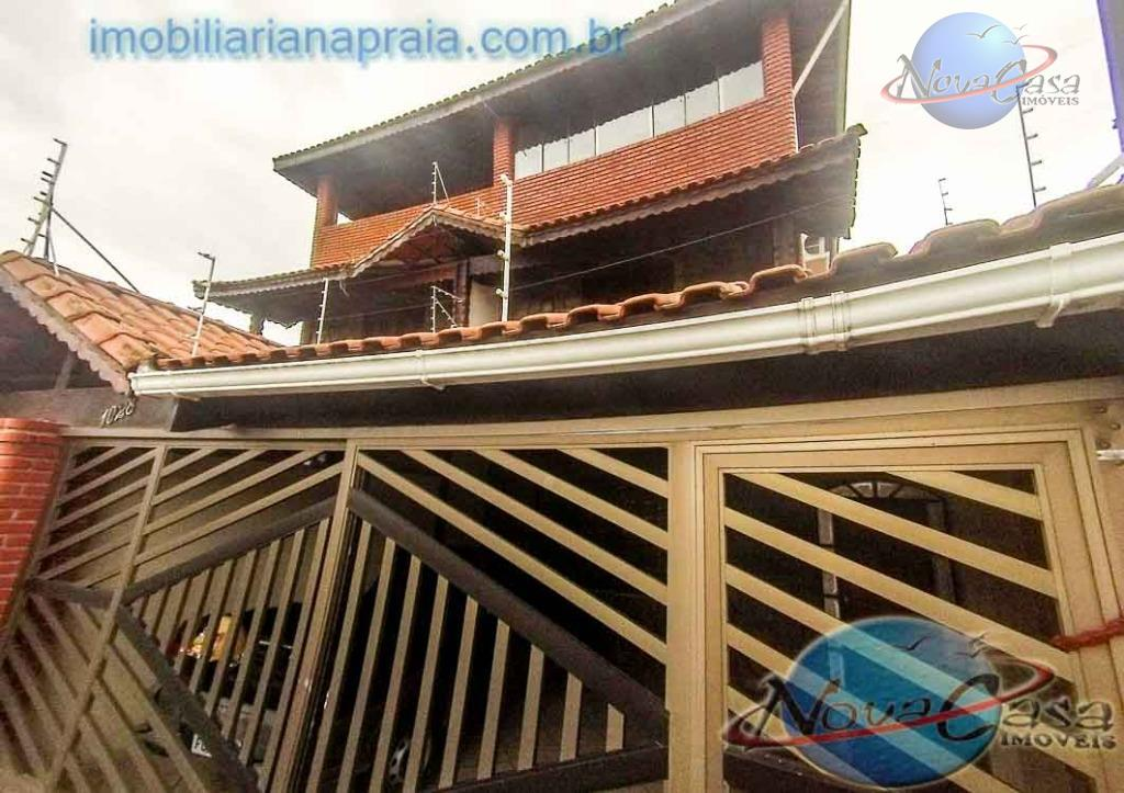 Sobrado  Triplex 4 dormitórios Tupi, Praia Grande.
