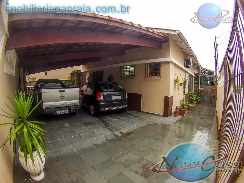 Casa, 4 vagas, Lado Praia, Vila Tupi, Praia Grande.
