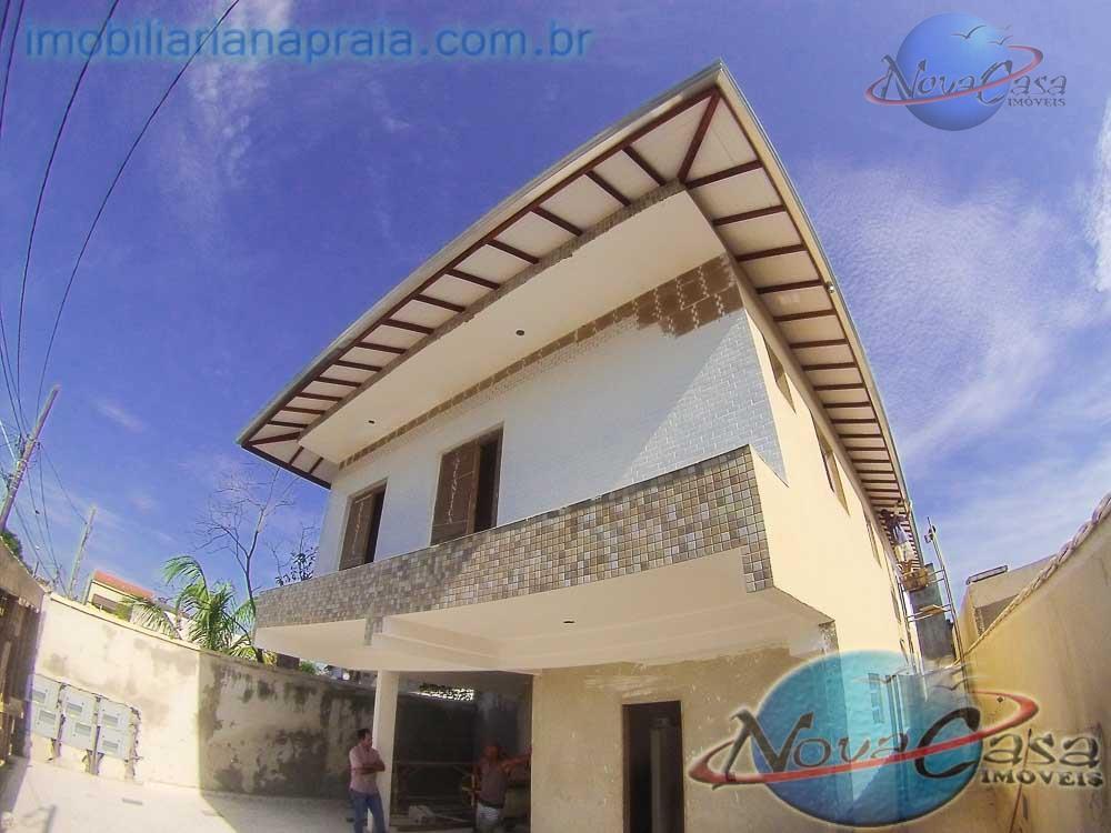 Casa 2 dormitório condomínio, Aviação, Praia Grande.