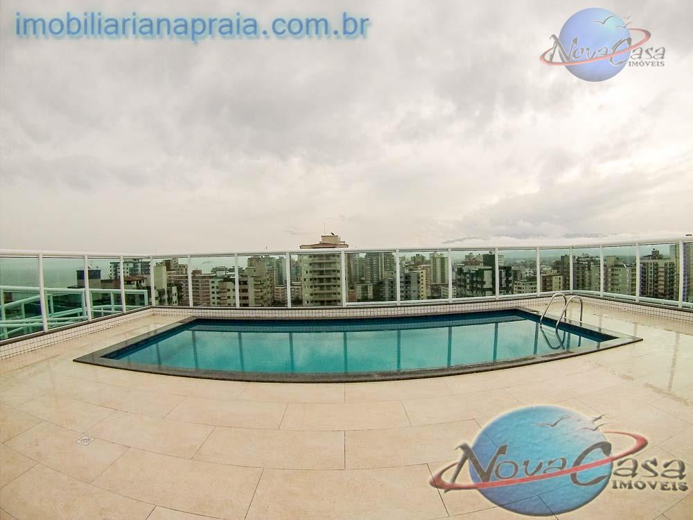 Apartamento 2 Dormitórios com Sacada, Vila Tupi, Praia Grande.