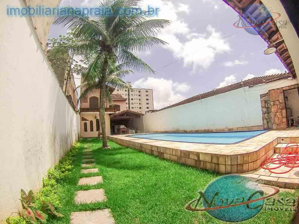 Casa Isolada 4 Dormitórios, Vila Mirim, Praia Grande