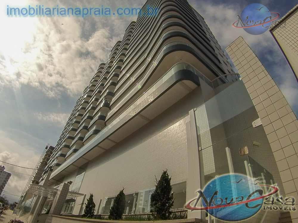 Apartamento 2 Dormitórios com varanda gourmet, Cidade Ocian, Praia Grande.