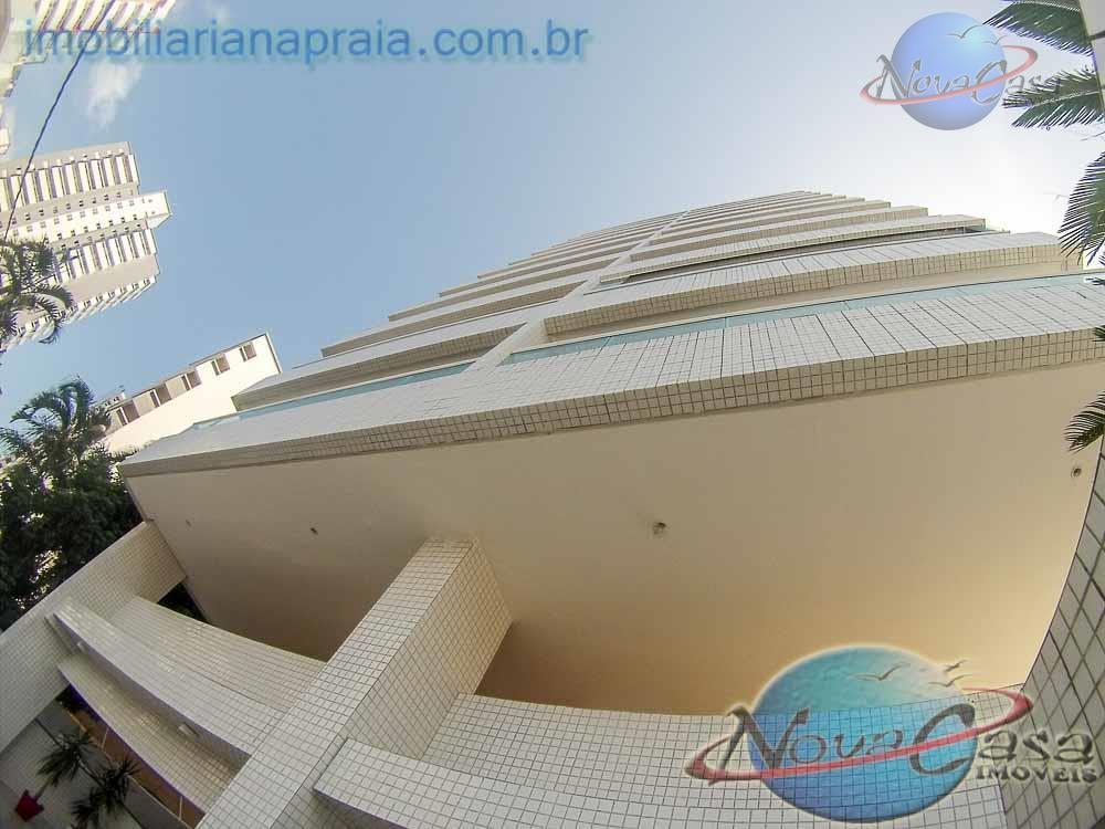 Apartamento 2 dormitórios, Sacada Goumert, Ocian, Praia Grande.