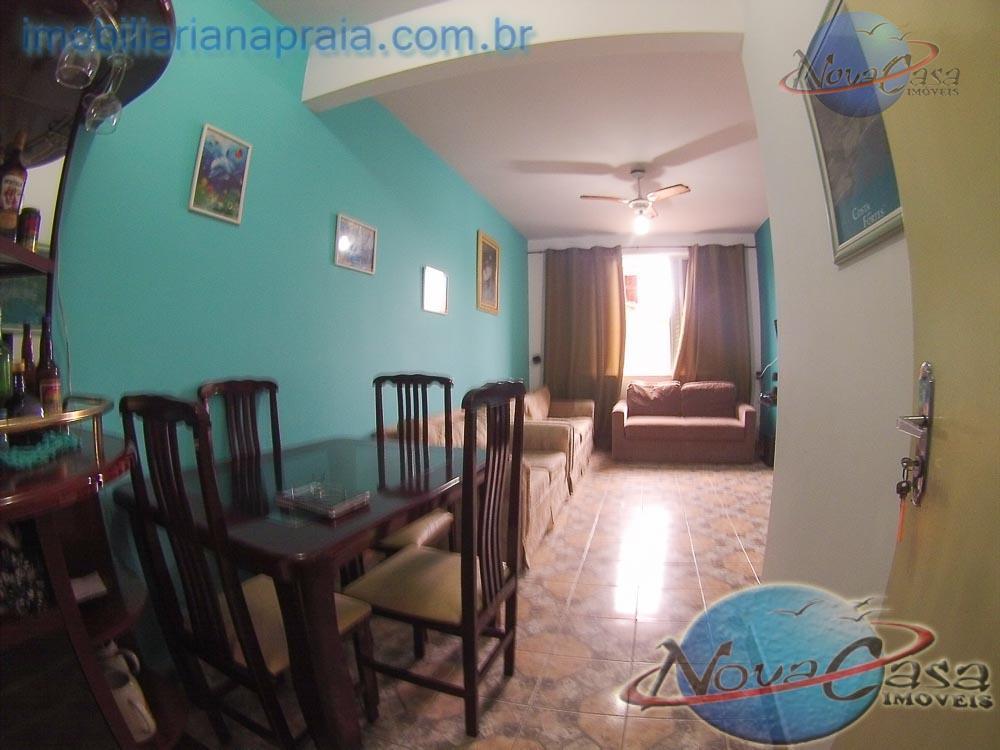 Apartamento 1 Dormitório Mobiliado, Balneário Maracanã, Praia Grande.