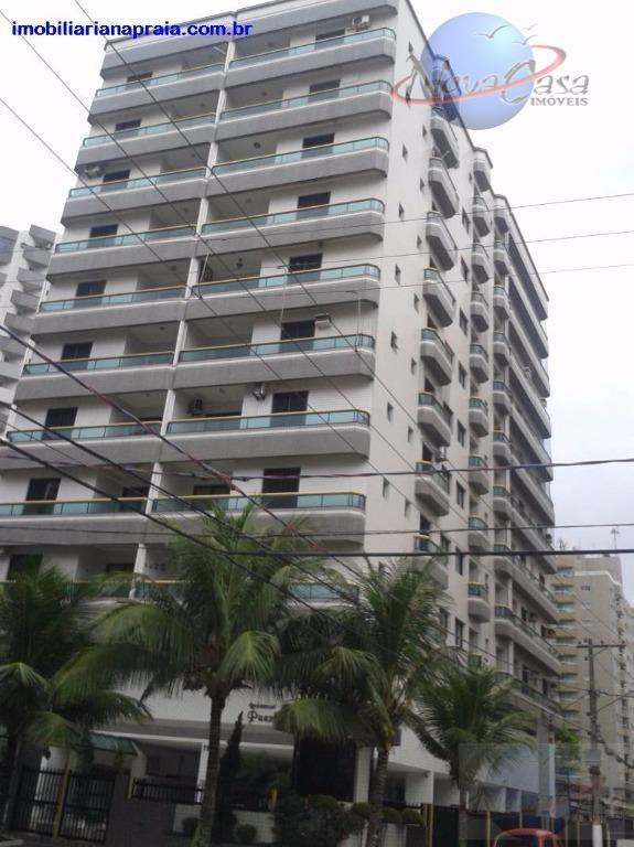 Apartamento 2 dormitórios à venda, Campo da Aviação, Praia Grande.