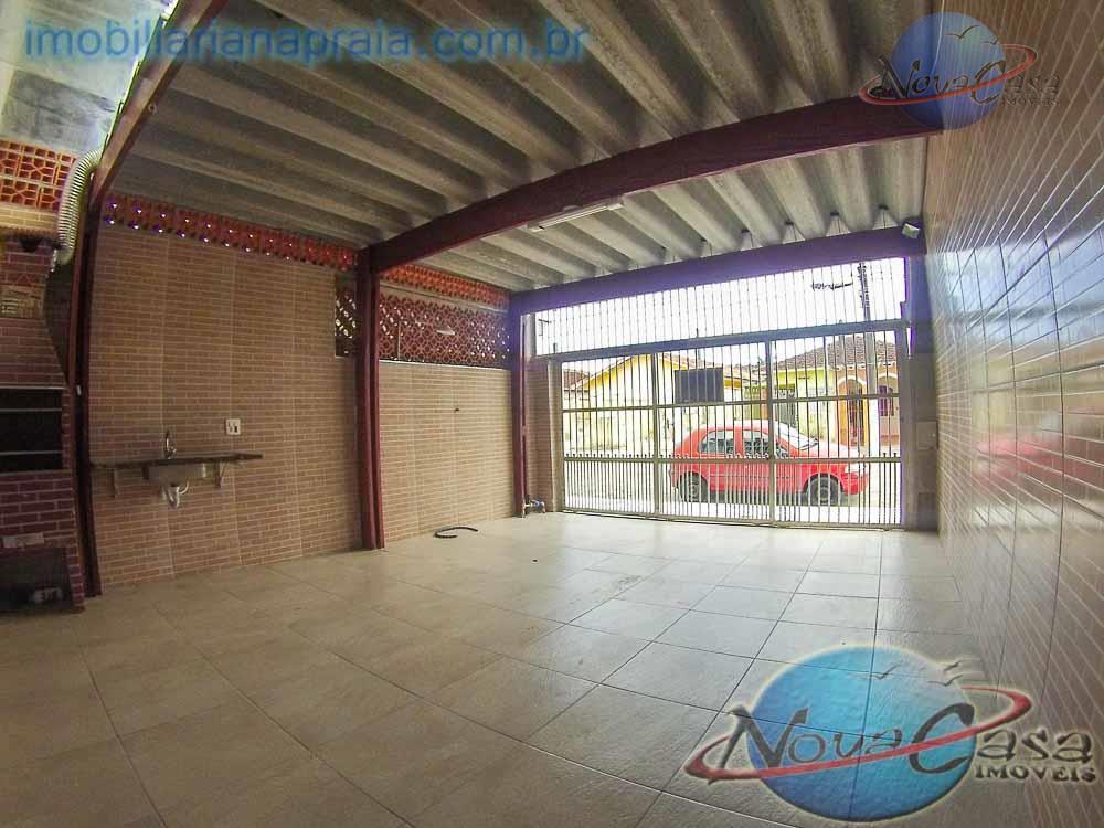 Casa 2 dormitórios, Vila Mirim, Praia Grande