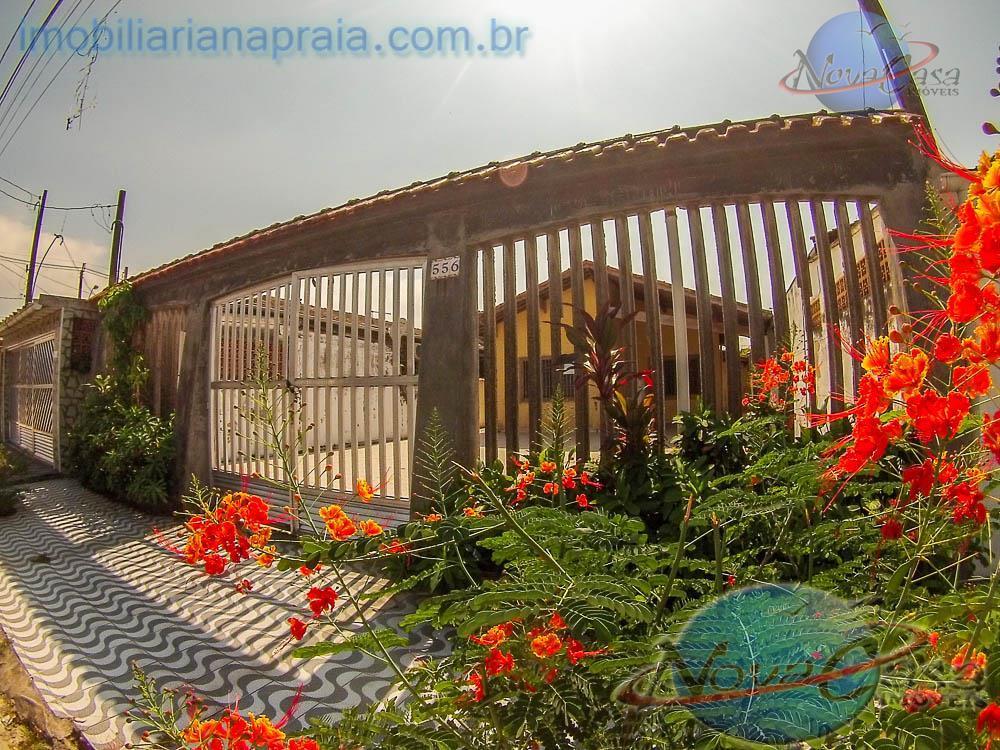 Casa isolada à venda, Vila Mirim, Praia Grande - CA0963.
