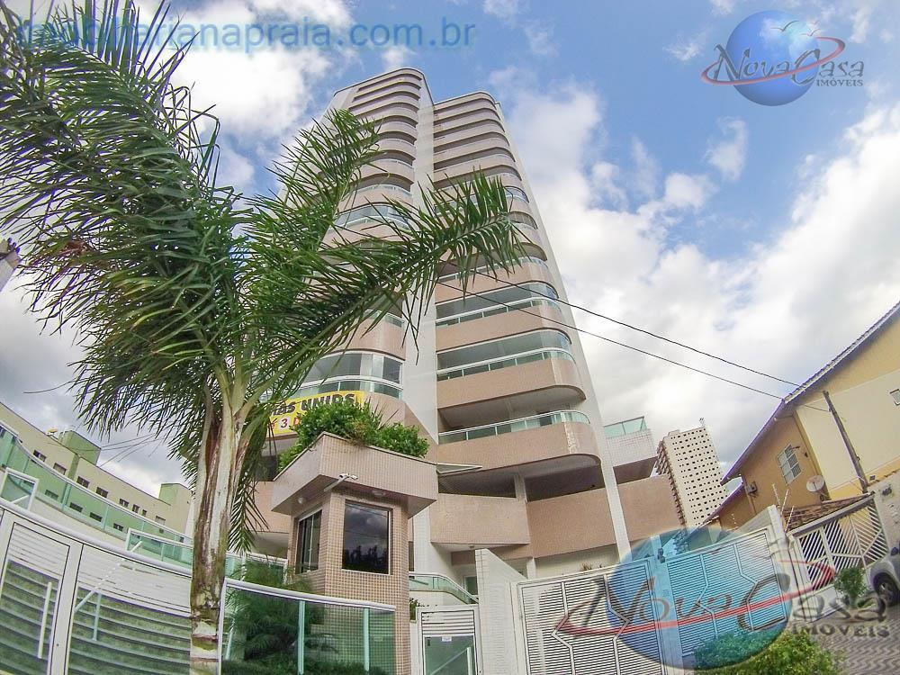 Apartamento 2 dormitórios, Lazer, e Varanda Gourmet, Guilhermina, Praia Grande.
