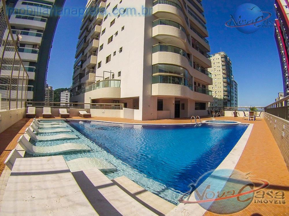 Apartamento 3 Dormitórios sendo 3 suítes, Canto do Forte, Praia Grande.