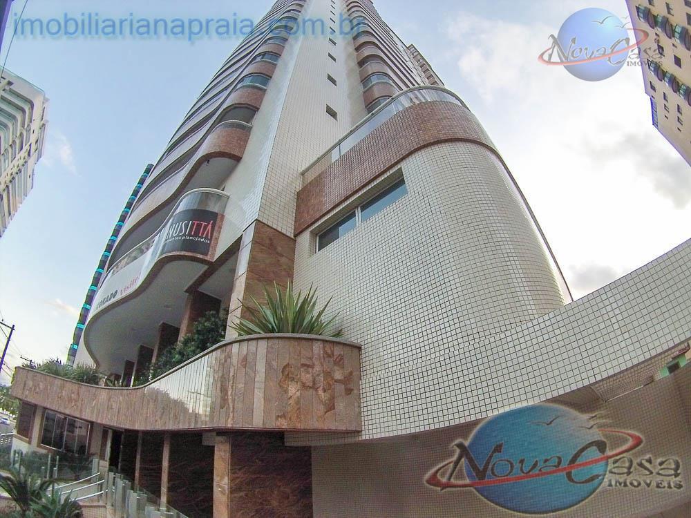 Apartamento 3 dormitórios à venda, Canto do Forte, Praia Grande - AP0270.