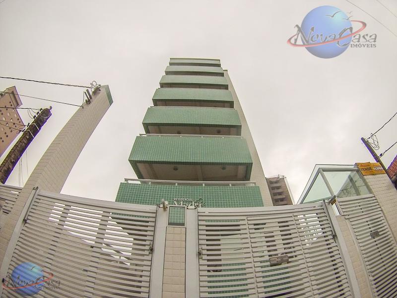 Apartamento 2 Dormitórios sendo 1 Suíte, Campo da Aviação, Praia Grande.