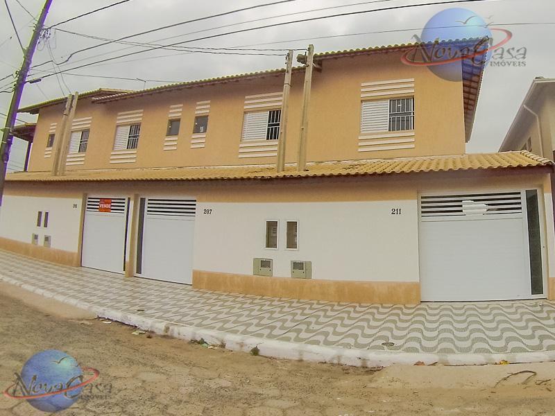 Sobrado 2 Dormitórios, 2 suítes, Balneário Maracanã, Praia Grande.