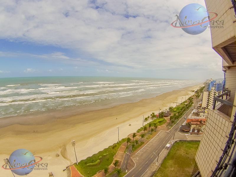 Cobertura Duplex Frente Mar, Praia Grande.