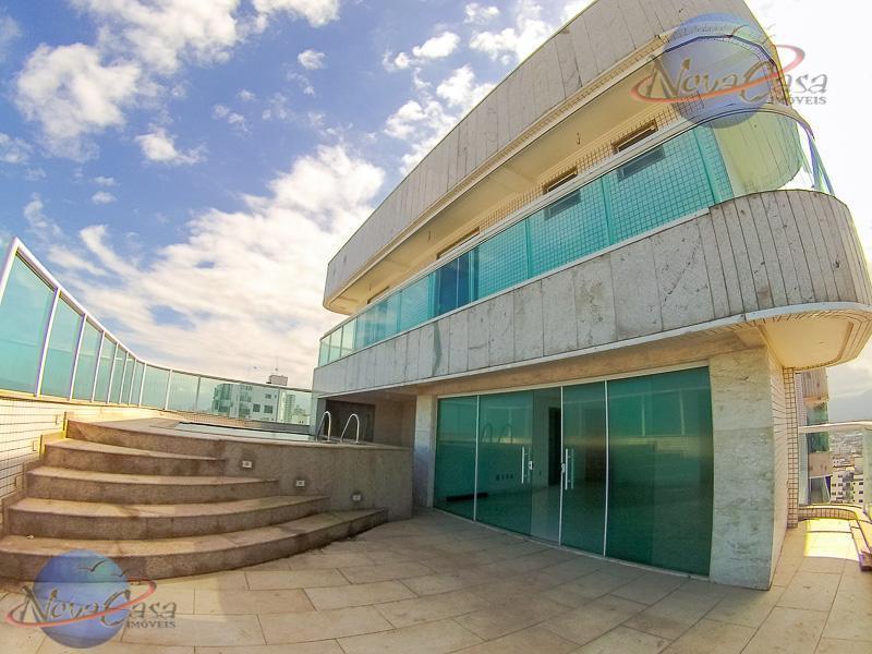 Cobertura Duplex à venda, Campo da Aviação, Praia Grande.
