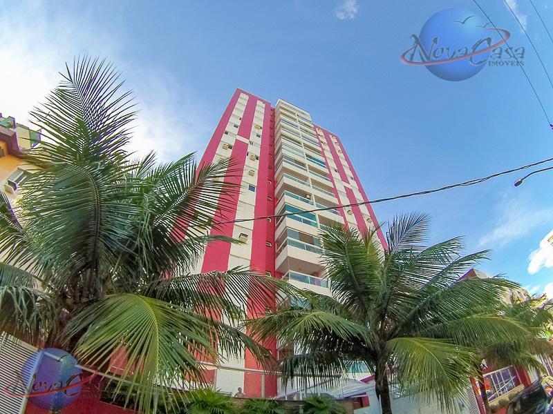 Apartamento churrasqueira na sacada e Piscina Canto do Forte, Praia Grande.