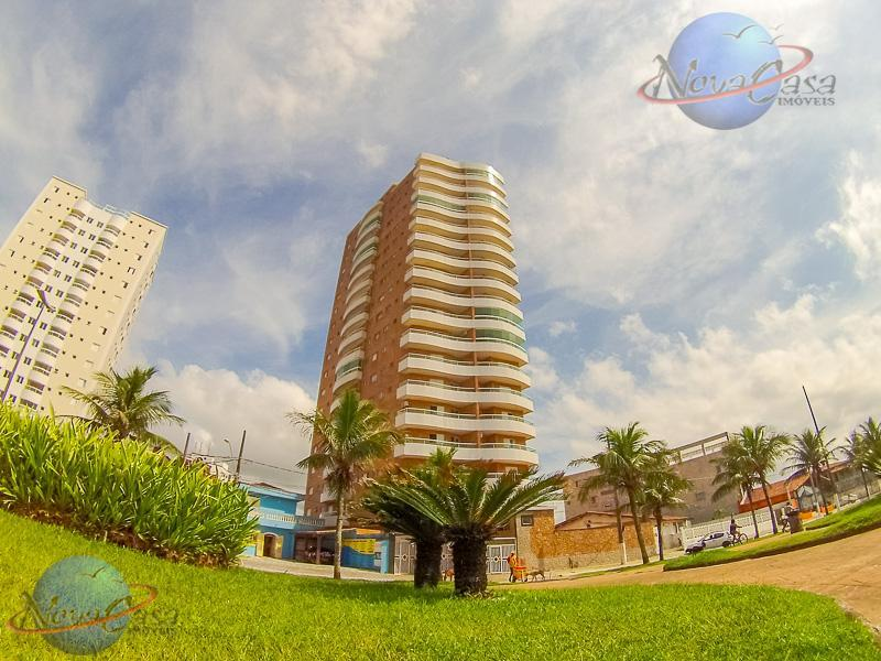 Apartamento 1 Dormitório Prédio Frente para o Mar Caiçara, Praia Grande.