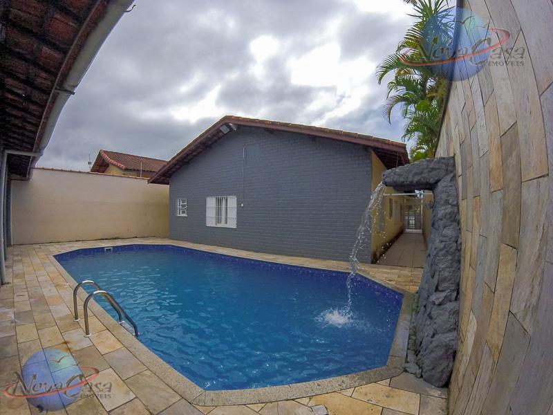 Casa 3 Dormitórios sendo 1 Suíte, Praia Grande.