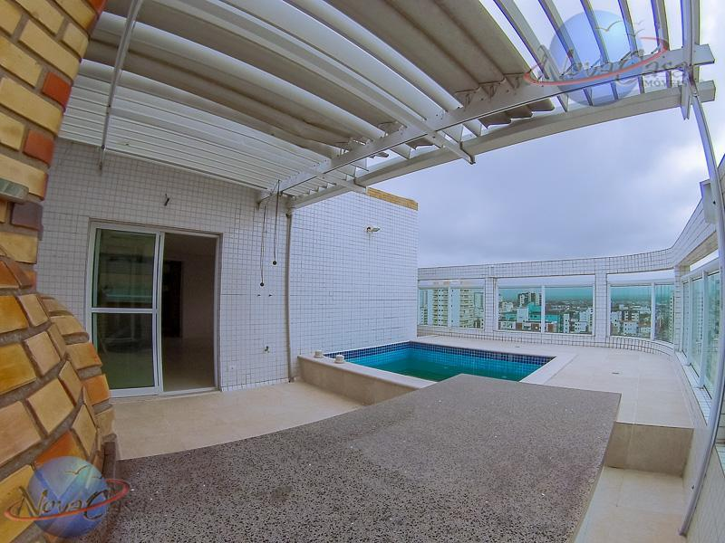 Cobertura Duplex à venda, Vila Guilhermina, Praia Grande.