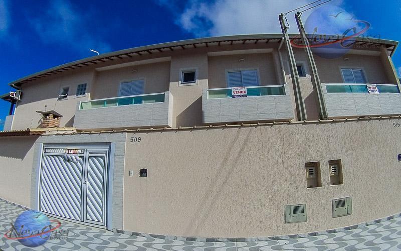 Sobrado 3 Dormitórios, Caiçara, Praia Grande