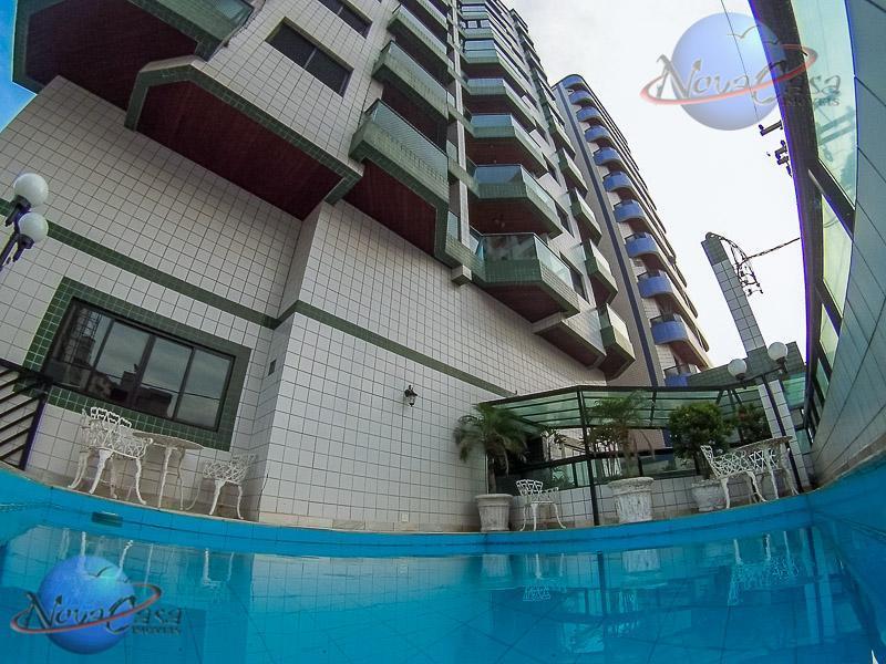 Apartamento 1 Dormitório com Sacada Ocian, Praia Grande.