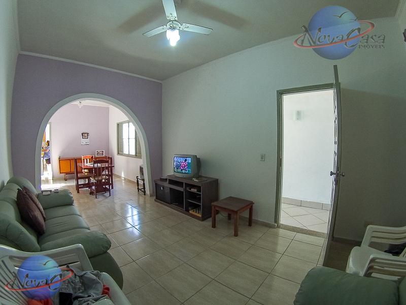 Casa 2 Dormitórios, Suite e Churrasqueira, Praia Grande - CA1013.