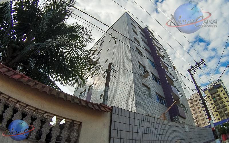 Apartamento Amplo 1 Dormitório com sacada Aviação, Praia Grande.