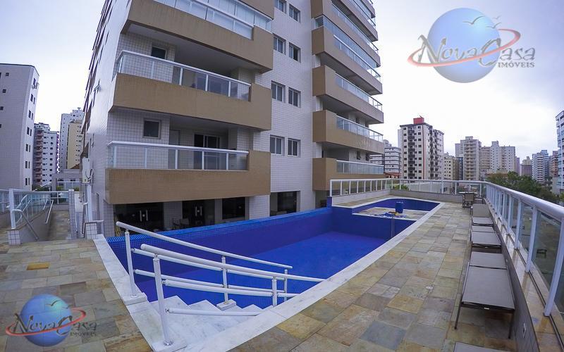 Apartamento à venda 2 suítes com Varanda Gourmet, Aviação, Praia Grande - AP6833.