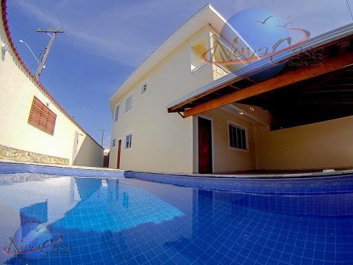 Sobrado 4 Dormitórios, Jardim Real, Praia Grande.