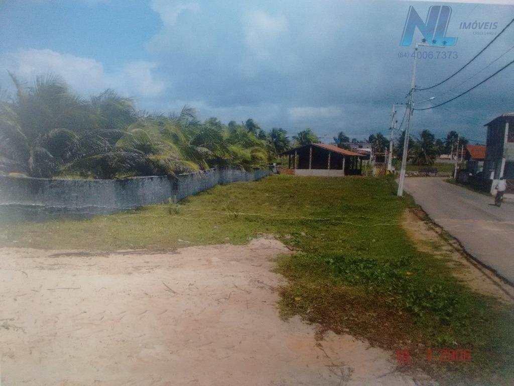 Terreno na Praia de Camurupim
