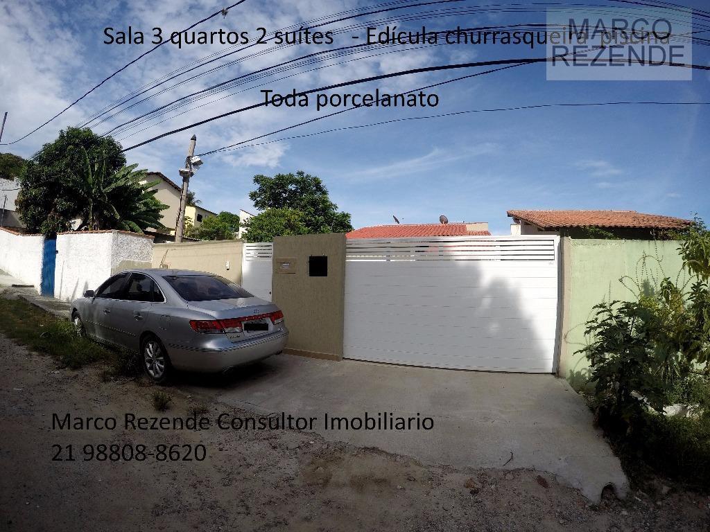 Casa linear com piscina Itaipu