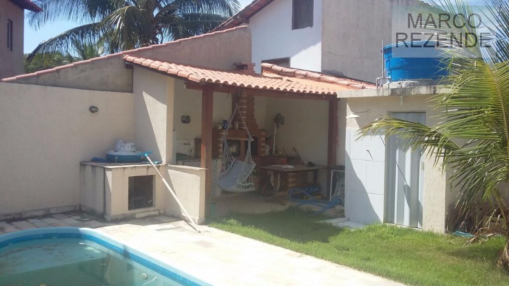 Casa linear com piscina e churrasqueira em Itaipu