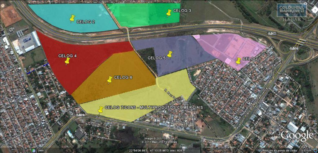 Área industrial para locação, Jardim São Pedro, Hortolândia.