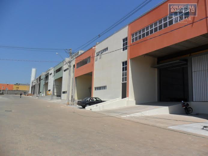 Galpão modular em Condomínio Industrial