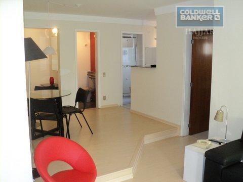 Flat residencial para locação, Cambuí, Campinas.