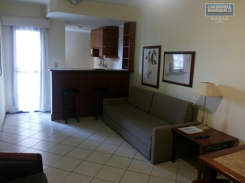 Flat residencial para locação, Centro, Campinas.