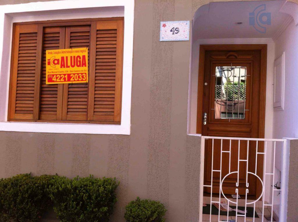 Sobrado  comercial para locação, Santa Paula, São Caetano do Sul.