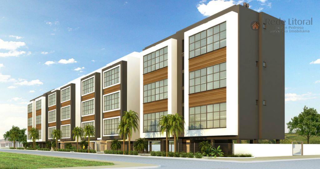 Apartamento residencial à venda, Praia da Cal, Torres - AP0251.