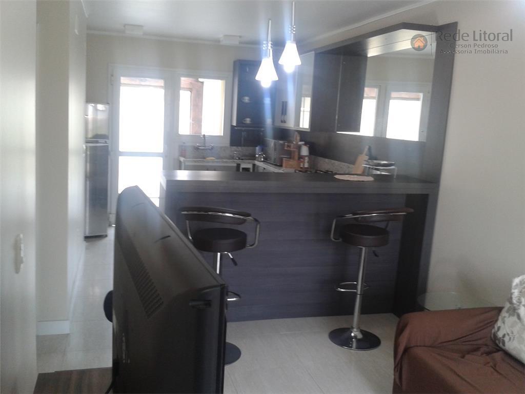 hermosa, xangri-lá, casa em condomínio com localização privilegiada, mobiliada e decorada, pronta para uso, 2 dormitórios,...