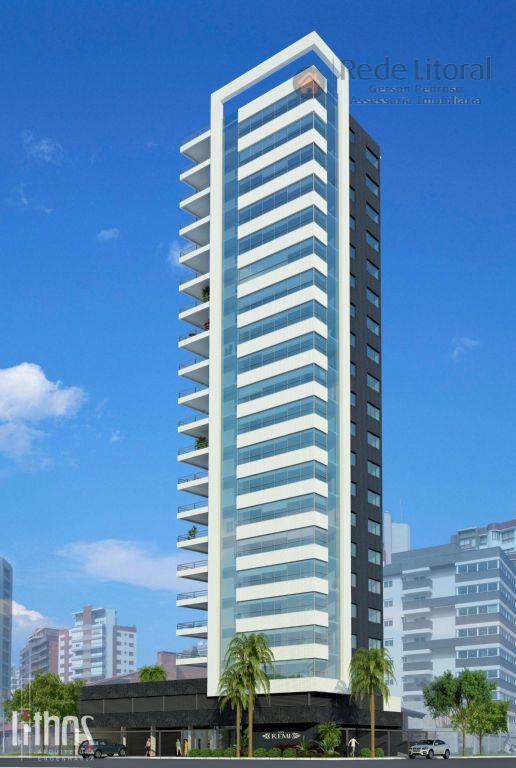 Apartamento com vista para o Mar no Centro, Torres - AP0099.