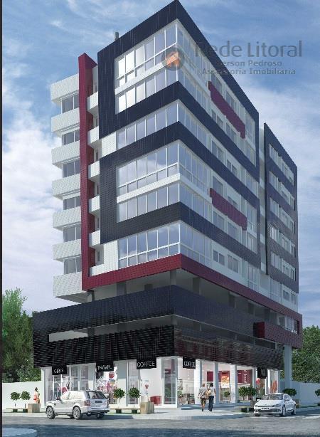 Apartamento residencial à venda de frente, Centro, Torres.