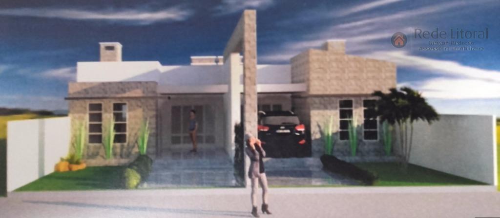 Casa residencial à venda, Novo Passo, Passo de Torres - CA0116.