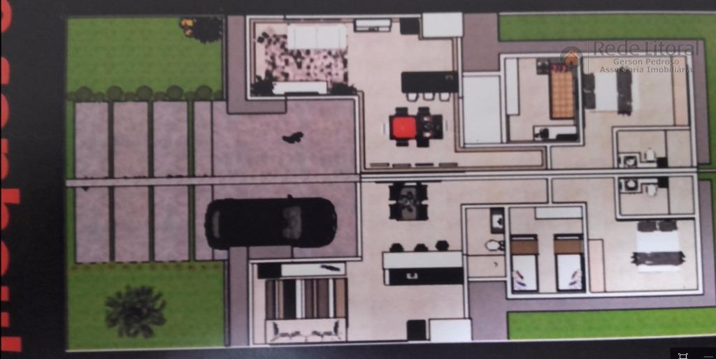 casa financiada pela caixa econômica federal em santa catarina, passo de torres, bairro planejado e monitorado,...