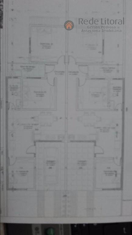 casa em santa catarina em passo de torres com 3 dormitórios, living 2 ambientes conjugado com...