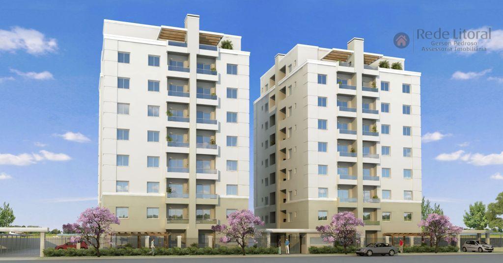Apartamento residencial à venda, Praia da Cal, Torres.