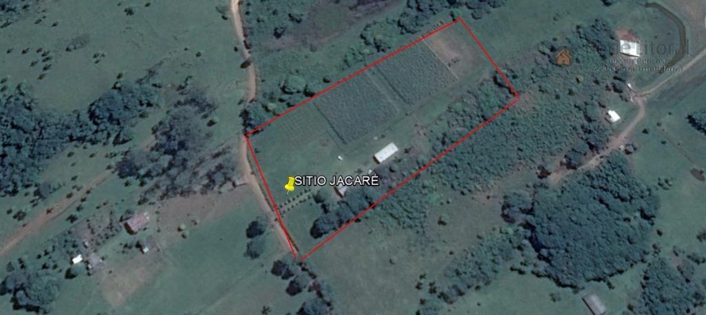 """sítio jacaré, atual produtor da cachaça """"jacaré"""", em excelente localização a 6 km de torres e..."""