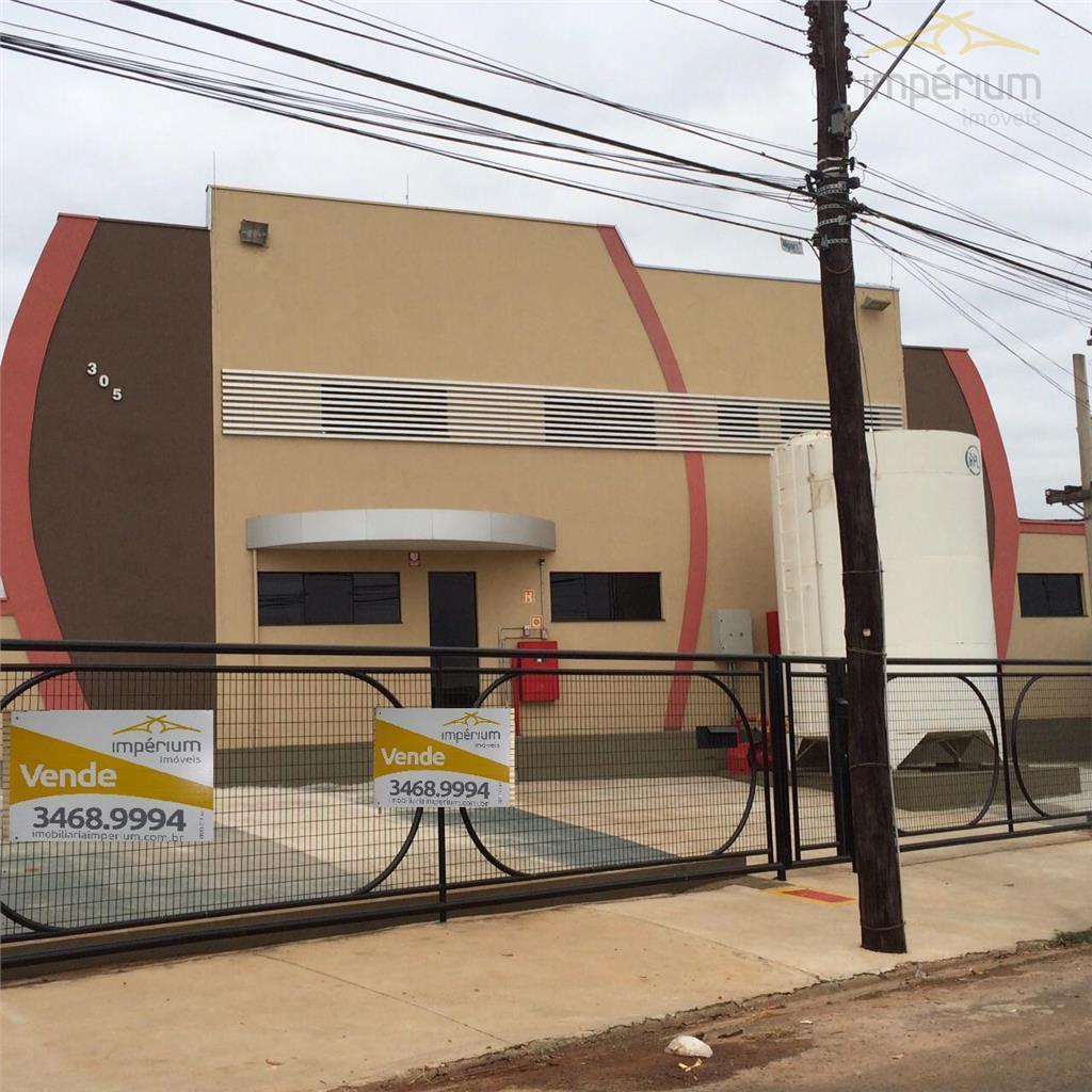 Salão  industrial à venda, Distrito Industrial I, Santa Bárbara D'Oeste.