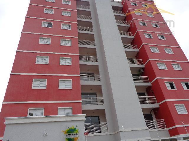 Apartamento  residencial para venda e locação, Jardim Dona Judith, Americana.