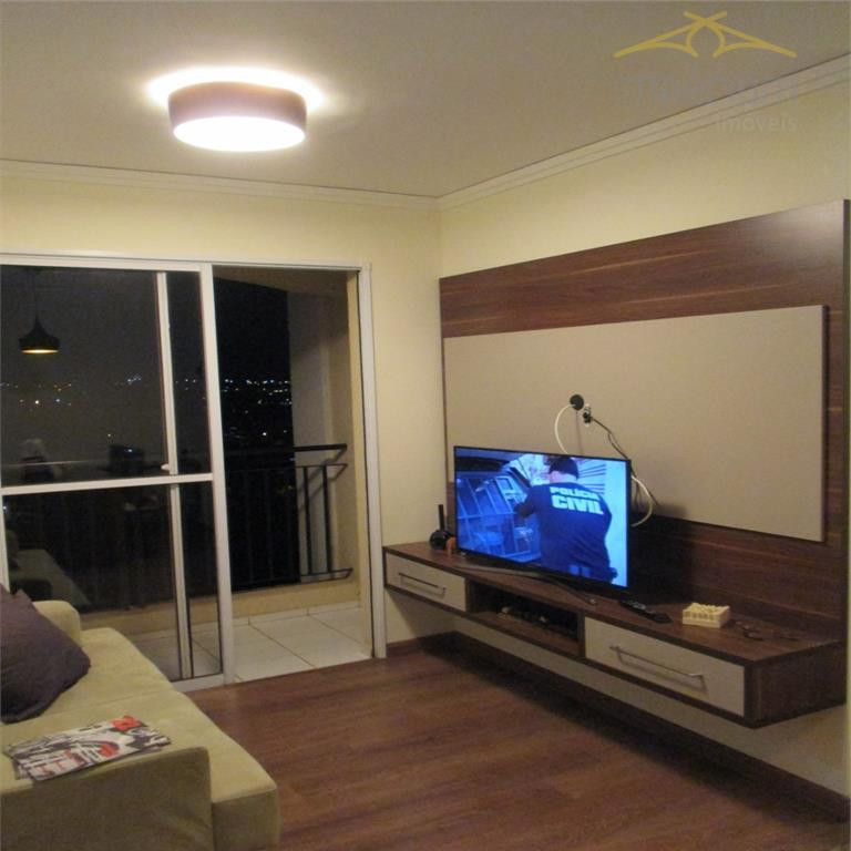 Apartamento  residencial à venda, Cariobinha, Americana.