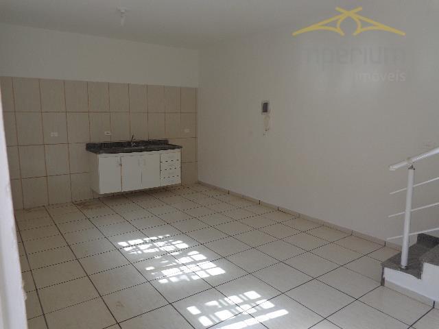 Kitnet  residencial para locação, Parque Residencial Jaguari, Americana.